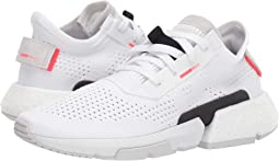 Footwear White/Footwear White/Shock Red