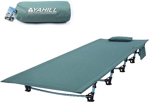 Mpy-mpy Lit Pliant Ultra Léger en Plein Air en Alliage D'aluminium Extérieur Lit De Camp Bureau Déjeuner Pause Camping en Plein Air Portable