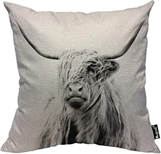 highland cattle cushion covers