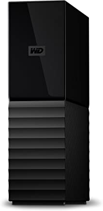 WD 10TB My Book Desktop External Hard Drive, USB 3.0 - WDBBGB0100HBK-NESN