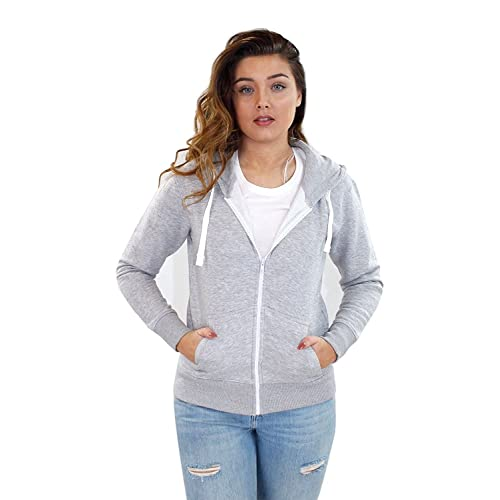 67c7e59c3 Zip Up Sweatshirts for Women: Amazon.co.uk