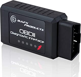 Bafx Products - Wireless Bluetooth OBD2 / OBDII Diagnostic Car Scanner & Reader Tool for Android Devices - Read/Clear Your Check Engine Light & Much More