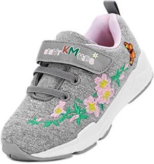 EIGHT KM Boys and Girls Toddler Kids Lightweight Breathable Sneakers School Shoes