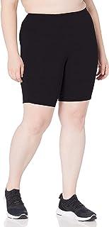 Rainbeau Curves Women's Plus Size Basix Compression Bike Short
