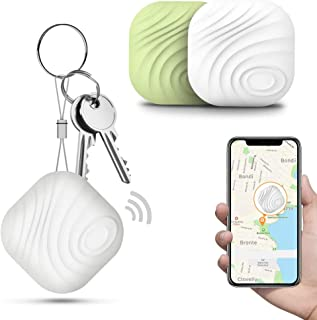 Key Finder Locator (Pack of 2), Smart Bluetooth Item Tracker & Finder Device for Wallet, Phone, Dogs, Cats - Anti-Lost Bid... photo