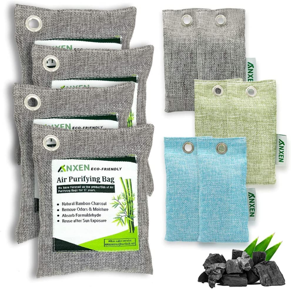 ANXEN Bamboo Charcoal Air Purifying Activated Cheap bargain Shoe Pack Max 86% OFF 10 Bags
