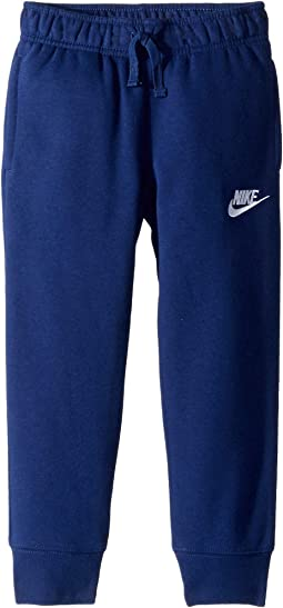 Club Fleece Rib Cuff Pants (Little Kids)