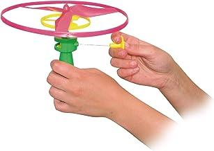 Paul Günther 1682 - Propellerspiel Twirly, Flugspiel für Kinder ab 4 Jahren, Rotor-Durchmesser ca. 19 cm, idealer Spielspaß für Kinder und Erwachsene