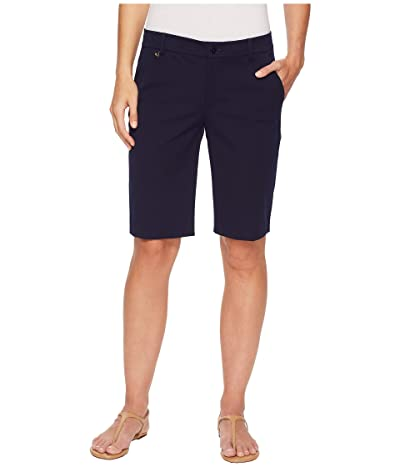 LAUREN Ralph Lauren Stretch Cotton Shorts (Navy) Women