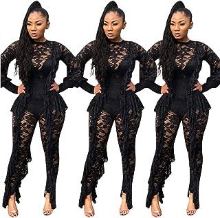 Best plus size lace jumpsuit Reviews
