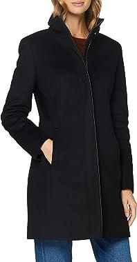 HUGO Malura Manteau de mlange de laine Femme
