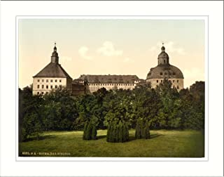 The castle Gotha Thuringia Germany, c. 1890s, (L) Library Image
