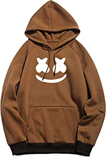Mythili Essentials Unisex Printed Cotton Hooded Hoodie