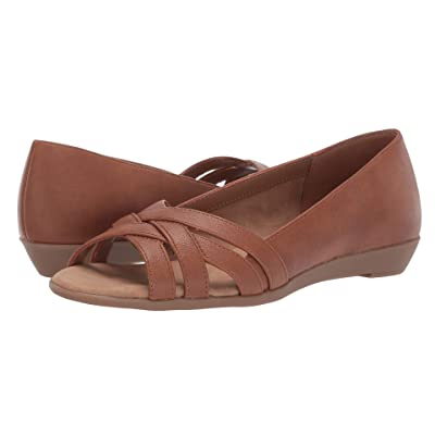 A2 by Aerosoles Fanatic (Dark Tan Nappa) Women