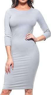 Best light grey midi dress Reviews