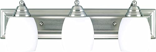 2021 Canarm IVL259A03BPT 3 Light popular Griffin Bathroom Bar high quality Light online sale