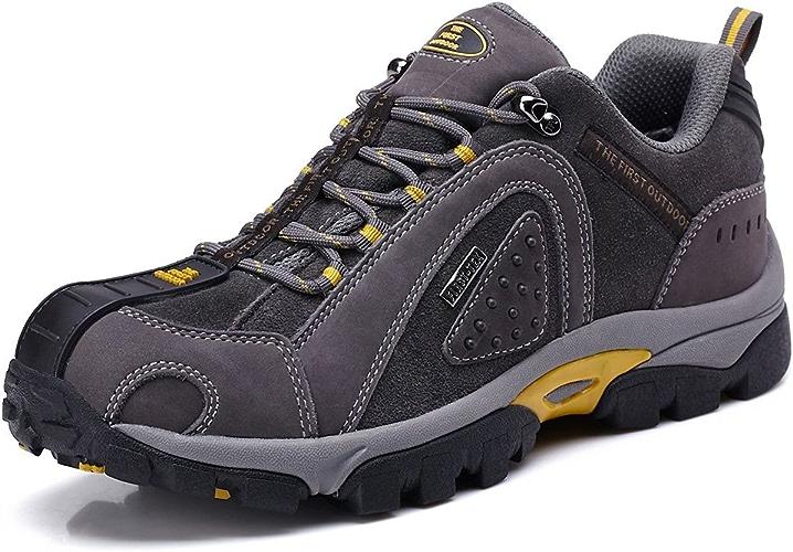 TFO Chaussures de Randonn¨ e en Plein air pour Hommes Imperm¨ ables Chaussures d'escalade Faible Rise Chaussures de Trekking Antid¨ rapantes