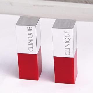 Lot of 2 Clinique Pop Lip Colour + Primer Travel Size Duo Set