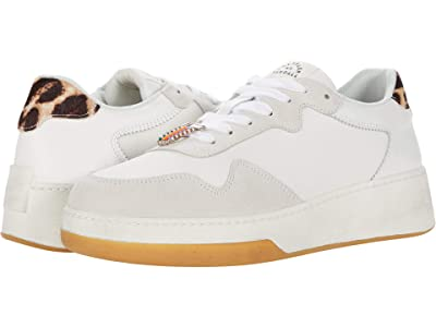Loeffler Randall Keira Low Top Sneakers (Dirty Cement/Mocha Leopard) Women