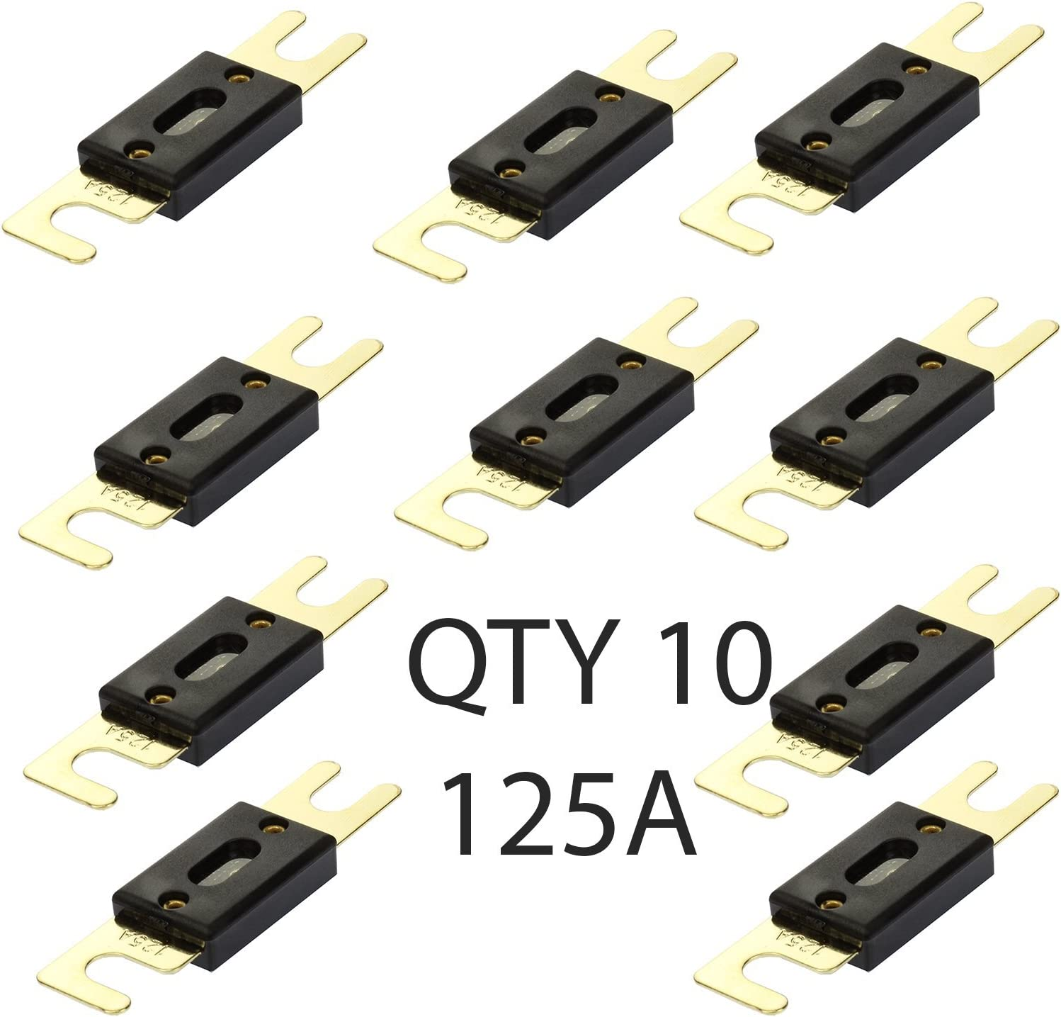 Our shop most popular VOODOO Finally popular brand 125 Amp ANL Inline Fuse Audio for 10 Holder Pac Car