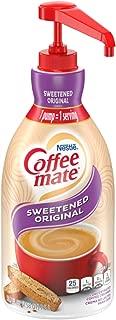 Nestle Coffee-mate Coffee Creamer, Sweetened Original, liquid pump bottle, 50.7 Fl. Oz (Pack of 1)