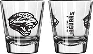 Official Fan Shop Authentic NFL Logo 2 oz Shot Glasses 2-Pack Bundle. Show Team Pride at Home, Your Bar or at The Tailgate. Gameday Shot Glasses for a Goodnight