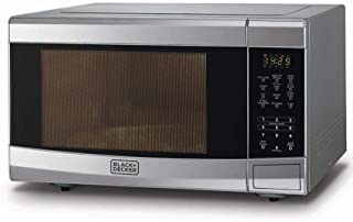 Black+Decker 42 Liter 1400W Combination Microwave Oven with Grill, Silver - MZ42PGSS-B5, 2 Years Warranty