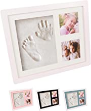 Perfect Baby Memory and Nursery Room Decoration Baby Photo Frame Kit Clay for Newborn Baby Girls and Boys New Parents Gift Baby Shower Gifts,Baby Registry PewinGo Footprint Kit /& Handprint Kit