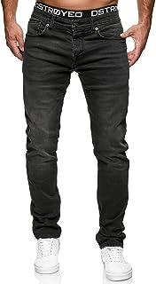 Merish Jeans da uomo Slim Fit Stretch Jeans J2100
