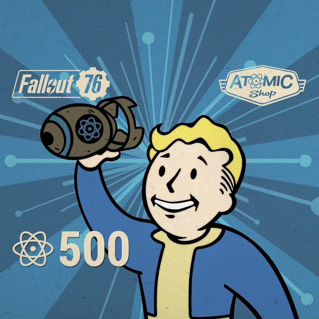 Fallout 76: 500 Atoms - PS4 [Digital Code]
