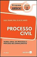 Sinopses jurídicas: Processo civil - 17ª edição de 2019: Teoria geral do processo e processo de conhecimento: 11