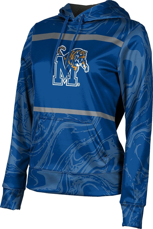 ProSphere University of Memphis Girls' Pullover Hoodie, School Spirit Sweatshirt (Ripple)