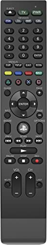 PDP 051-038-D1 Universal Media Remote Control for PS4, TV, Cable Box & Audio Receiver