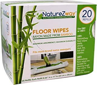 NATUREZWAY WIPE FLOOR BMBOO 1EA