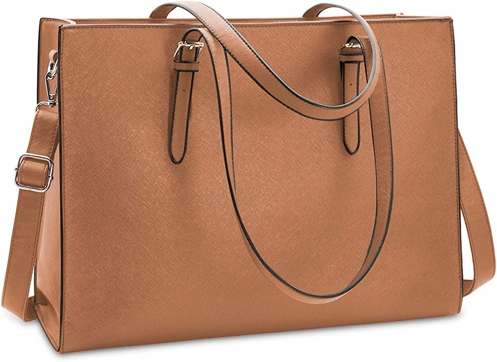 Nubily, borsa a tracolla/mano per donna, in morbida pelle sintetica NB6602-brown