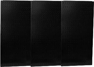 Wall Control - 35-P-3248BK - スチールペグボードパネル 耐荷重600ポンド 32H x 48W ブラック 1 EA