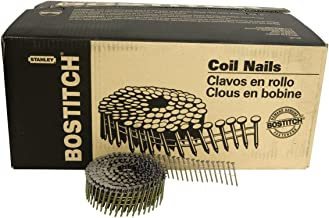 BOSTITCH AC4DR080BDP Siding and Fencing Nails, 1-1/2-Inch by 0.080-Inch Ring Shank