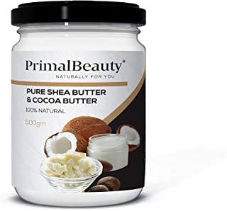 Primal Beauty Shea Butter and Cocoa Butter, 500 g