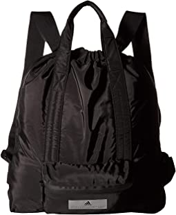 Black Black. 21. adidas by Stella McCartney. Gym Sack.  100.00. Luxury 600fd6385b251
