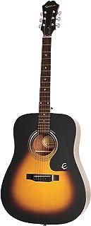 Epiphone Songmaker DR-100, Dreadnought Acoustic Guitar - Vintage Sunburst
