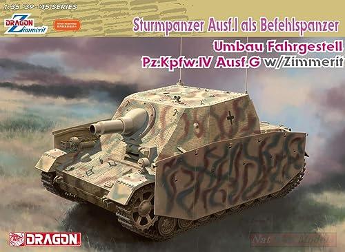 Dragon D6819 STURMPANZER AUSF.I ALS BEFEHLSPANZER KIT 1 35 MODELLINO Model Compatible avec