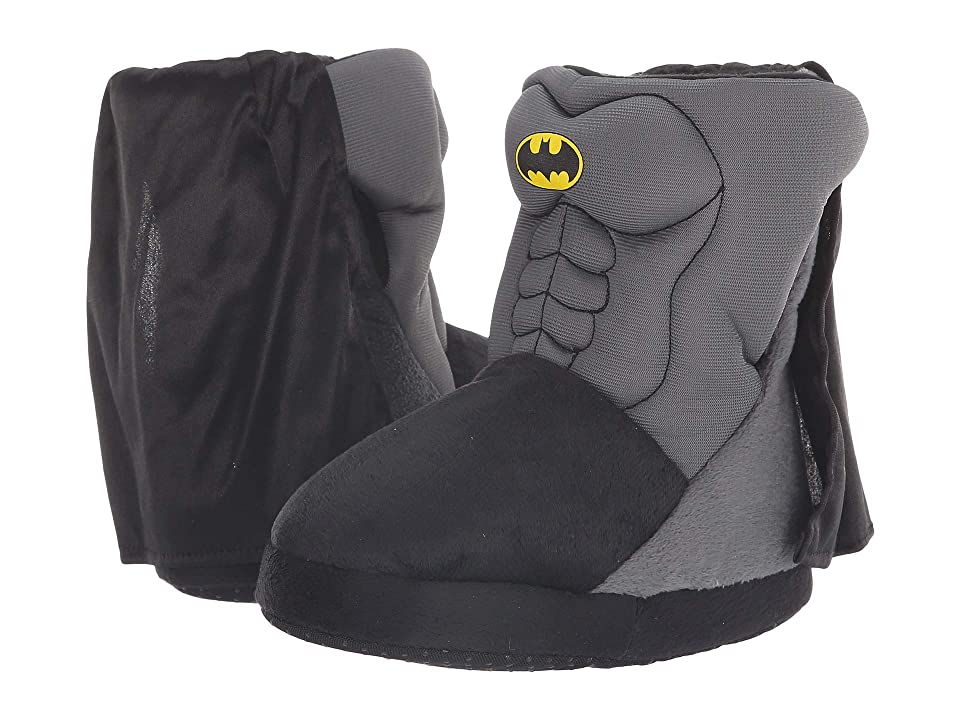 Favorite Characters BMF242 Batmantm Slipper Boot (Toddler/Little Kid) (Black/Grey) Boys Shoes