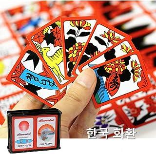 SEESEE.U Coreano japonés PVC Impermeable Mahjong Gostop Go Stop Tarjetas de Juego de Mesa Popular Family Party Table Game Go-Stop Hanafuda Cards: Amazon.es: Hogar