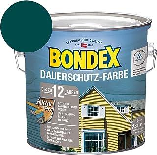 Bondex Dauerschutz-Holzfarbe Moosgrün 2,50 l - 329883