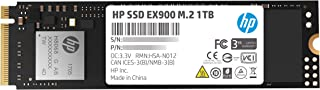 HP EX900 M.2 1TB PCIe 3. 1 X4 Nvme 3D تي ال سي ناند محرك الاقراص الصلبة الداخلية (اس اس دي) ماكس 2100 ميجابت في الثانية 5X...