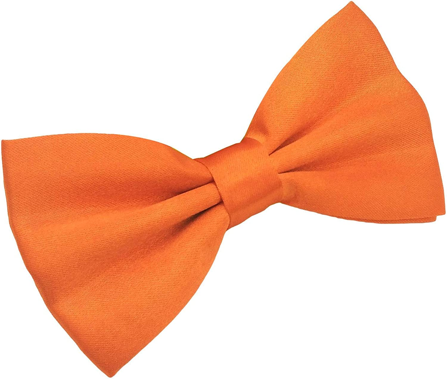 Startby Mens Shiny Adjustable Neck Solid Bow Ties Pre Tied