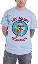 Officially Licensed Merchandise Breaking Bad Los Pollos Hermanos T-Shirt (Skyblue)