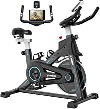 Sponsored Ad - pooboo Magnetic Exercise Bike Indoor Cycling Bike Stationary, Adjustable Seat & Handlebar, Stationary bike ...
