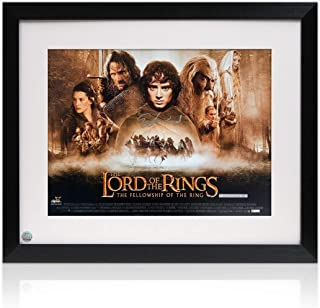 Elijah Wood Signed The Lord Of The Rings Poster. Framed | Autographed Memorabilia