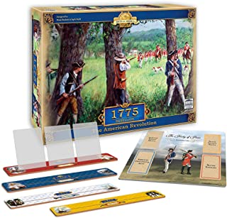 Academy Games 1775 - Rebellion Expanded Edition with Card Holders